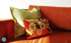 Combina colores y diseños! ponle color a tu sofá! #hogar #funda #cojin #hechoenchile #cushion #cover #bed #home #sofa