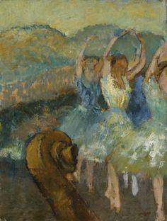 Edgar Degas (1834-1917) Le Ballet