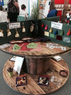 Five Senses Station (von Early Life Foundations: Walker Learning; Reggio Classroom, Classroom Organisation, Preschool Classroom, Classroom Activities, Senses Activities, Science Activities, Science Area, Learning Centers, Early Learning