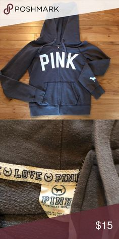 28a2a21f Pink hoodie Very good condition size small PINK Victoria's Secret Tops  Sweatshirts & Hoodies