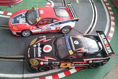 Mi Ferrari 360 GTC contra el Chevrolet Corvette de mi mujer mano a mano sobre la pista.