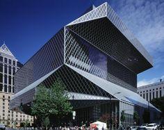Seattle Central Library, Washington. OMA & LMN Architects. Image Courtesy © OMA