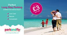 The summer holidays are almost here! We've got the perfect spot for your long stay parking at Belfast International Airport. Book online now at www.biaparkandfly.com or, if you haven't pre-booked you can simply pay at the gate on the day - handy!  #CarParking #Airport #Belfast #ParkandFly #travel #holiday #family #beach