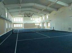 Indoor shot of Tennis court - Private Tennis Facility in Telluride ...