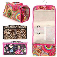 51212c10f3 Makeup Cosmetic Bag Case Jewelry Travel All Over Print Hand Roll Up  Organizer Hand Roll