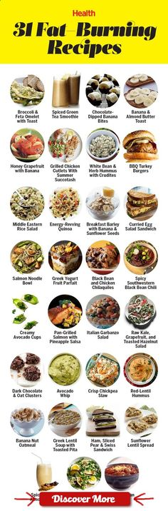 From turkey burgers to banana smoothies, these simple calorie-burning recipes will help you lose weight fast. | Health.com #health #fitness #weightloss #healthyrecipes #weightlossrecipes