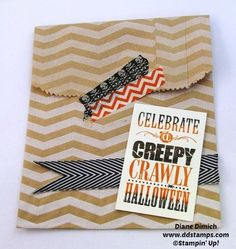 Stampin' Up! Halloween Bash Treat Bags