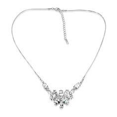 Luxusní stříbrný náhrdelník Gio Caratti Blanche SHF1765 Diamond, Silver, Jewelry, Jewlery, Jewerly, Schmuck, Diamonds, Jewels, Jewelery