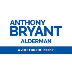 17 best alderman campaign sign templates images on pinterest