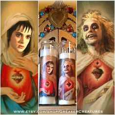 Saint Horror Candles Are A Must Have! - iHorror