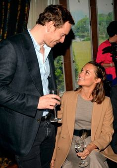 Michael Fassbender and Alicia vikander- they are the most beautiful couple