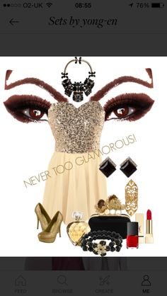 Never too glamorous #party #dress #glamorous #fashion