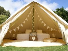 Bell tent weddings - brighton based bell tent hire. Pretty picnic basket essential