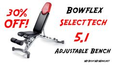 The Bowflex SelectTech 5.1 Adjustable Bench Is An Amazing Foundation For Any Dumbbell Workout! Learn Everything You Need To Know About The Bowflex SelectTech 5.1 Adjustable Bench Right Here! Find Out Where You Can Save $80 Today!