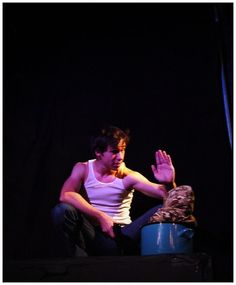 Travis Hackett as Bastian Fuller - The Search Party/Texas State production