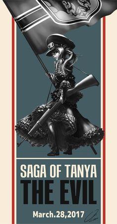 Costume Anime Saga of tanya the evil fan art Character Concept, Concept Art, Character Design, Guerra Anime, Manga Anime, Anime Art, Tanya Degurechaff, Tanya The Evil, Anime Military