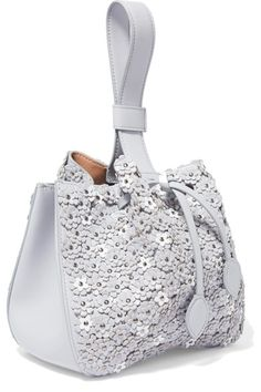 Dove-gray leather (Calf) Drawstring top Designer color: Tin Weighs approximately 1.8lbs/ 0.8kg Made in Italy