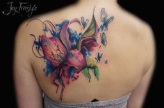 36 Beautiful Watercolor Tattoos from the World's Finest Tattoo Artists – favrify