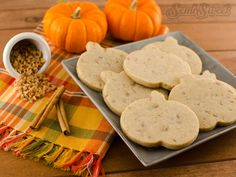 "I love the flavors of fall. Cinnamon, allspice, and cloves add such a wonderful autumn bite to baked goods, kind of like a cozy sweater that hugs your taste buds. Those fall spices also leave your kitchen smelling fantastic. If you want to ""spice"" up your typical sugar cookie recipe this season, here's a great, …"
