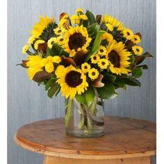 Brilliant Sunflower Medley