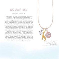 Origami Owl Core Collection Aquarius