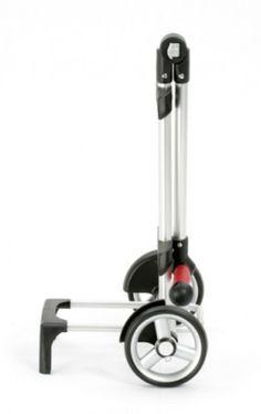Das Trolley Modell Shopper® Unus Fun ist das ideale Einsteigermodell in die Welt der Transportroller. Die Leichtlaufräder sind abnehmbar, der Griff falt- und verstellbar, der Trolley kann also schnell ins Auto verladen werden.