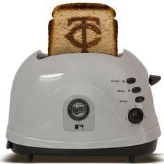 Minnesota Twins toaster.  Yep.