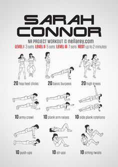 Sarah Connor workout