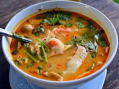 Tom Yum (Thaise garnalensoep) - Recepten en kooktips voor klassieke gerechten en ingredienten