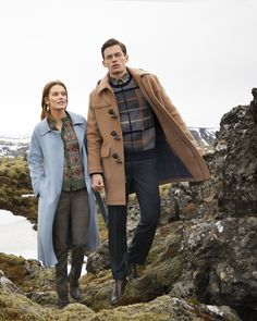 Shop Outerwear Essentials for Men & Women with The Winter Collection at Brooks Brothers Brothers Clothing, Preppy Winter, Modern Outfits, Sports Shirts, Brooks Brothers, Signature Style, Shirt Shop, Countryside, Essentials