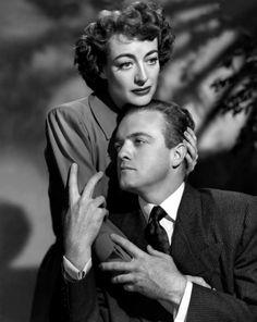 """Van Heflin & Joan Crawford, """"Possessed"""" (1947)"""
