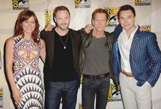 Jessica Stroup, Shawn Ashmore, Kevin Bacon & Sam Underwood @ SDCC 2014