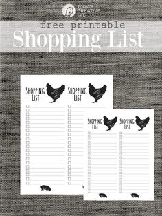 Free Shopping List Template Grocery List Free Printable  Printable Shopping List Free .