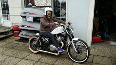 White Hell Bobber!! Kawasaki kz400