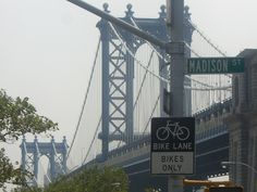Magnificent bridge in NYC