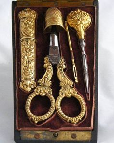 Antique Sewing Items.                                                                                                                                                     More