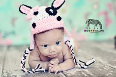 Bessy Cow Hat Crochet Pattern