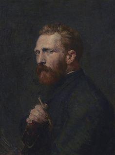 John Russell, Vincent van Gogh, Oil on canvas, x cm. Van Gogh Museum, Amsterdam (State of the Netherlands). Van Gogh Portraits, Van Gogh Self Portrait, L'art Du Portrait, Portrait Paintings, Pencil Portrait, Vincent Van Gogh, Van Gogh Museum, Van Gogh Tapete, Van Gogh Wallpaper