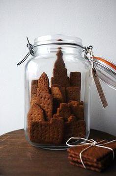 Manhattan graham cookies by Ayako Kurokawa