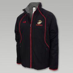 Under Armour Marines Hybrid Jacket (Black)
