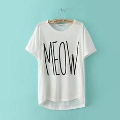 Short-Sleeved Print T-Shirt from #YesStyle <3 JVL YesStyle.com