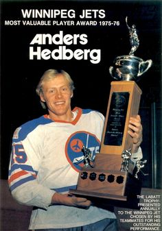 Anders Hedberg - Winnipeg Jets