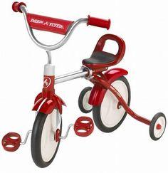 Radio Flyer, Wachs-Mit-Dreirad (Grow n´go Trike) Ein Dreirad das mitwachsen kann   Art-Nr: 23T / EAN:0042385902630