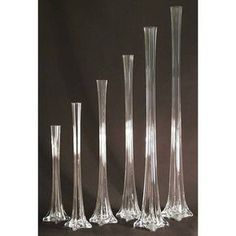 Note: Price shown is for one vase. Made from heavy duty glass and is a top choice for flower shops & wedding planner. Make your wedding incredible and memorable. Allows you to have stunning wedding ce