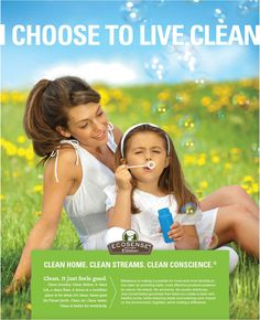 Celebrate Earth Day, Every Day, With EcoSense by Melaleuca. Making simply changes will have huge results!