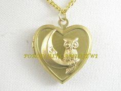 Owl necklace ecrater