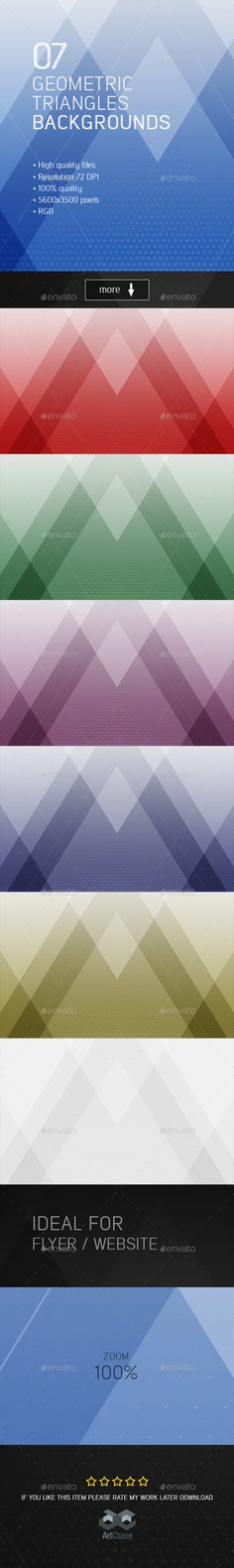 Geometric Triangles Backgrounds Download here: https://graphicriver.net/item/geometric-triangles-backgrounds/19637485