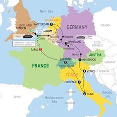 European Whirl End London - 2016 - USA - Trafalgar Tours