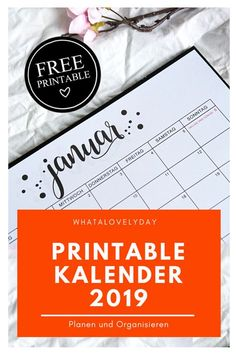 Latest Photo printed calendar printables Concepts The modern calendar year can be coming when it's the best year or so to set new solutions plus objectives for . Free Printable Sticker, Printable Calendar Template, Printable Planner, Free Printables, Family Calendar, Print Calendar, Kids Calendar, Diy Kalender, Diy 2019