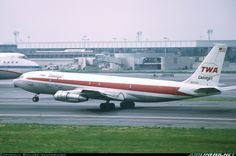 Aviation Photo Boeing - Trans World Airlines - TWA Cargojet Cargo Aircraft, Boeing Aircraft, Military Aircraft, Domestic Airlines, Boeing 707, Airplane Photography, Cargo Airlines, Commercial Aircraft, Civil Aviation